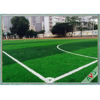 Diamond Shape Football Artificial Turf With Long Life / Best Standing Ability