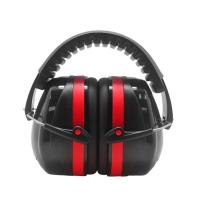 China High Decibel Workplace Disposable Protective Wear 24db Noise Reduction Ear Muffs wholesale