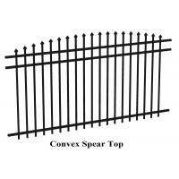 Buy cheap 2400mm width Crimped spear metal garrison fence supplier from wholesalers