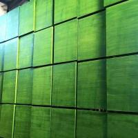 China WBP Green Plastic Film Faced Plywood For Concrete Formwork Construction on sale