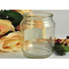 China Decoration Round Glass Tableware Transparent Shock Resistant wholesale