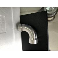 China Durable 90 Degree Grooved Elbow Pipe Fitting Cusomizedsize With Round Head wholesale