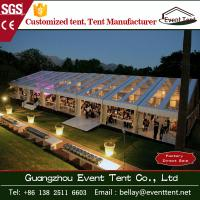 Buy cheap Transparent Outdoor Wedding Party Tent , clear roof big event marquee tent from wholesalers
