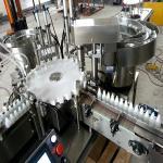 China Stainless Steel Small Bottle Filling Machine , Eye Drop Filling Machine wholesale
