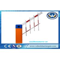 Buy cheap Two Fencing Parking Barrier Automatic Boom Barrier Entrance Security Retractable Barrier for Access Control System from wholesalers