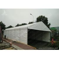 China _UV Resistant White PVC Textile Cover Aluminium Frame Tents, Waterproof Cover wholesale