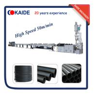 China High Speed 20-63mm HDPE Pipe Extrusion Line KAIDE factory wholesale