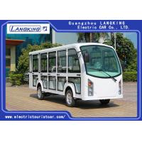 Buy cheap 14 Seaters Electric Passenger Vehicles With Door Recharge Time 8 ~ 10h from wholesalers