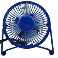 China promotional gift 2.5W air cooling metal USB fan for any occasions and seasons wholesale