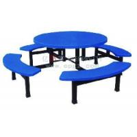 China Fiberglass Round Dining Table and Chair of Restaurant Furniture wholesale