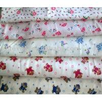 "China printed cotton flannel fabric for baby sleep wear 20*10 40*42 36""44"" wholesale"