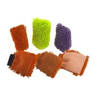 China Exfoliating Hand Gloves Body Scrub Mitts Super Water Absorptivity wholesale