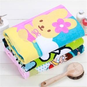 China Cartoon Cotton Beach Towels Anti-Bleach For Kids on sale