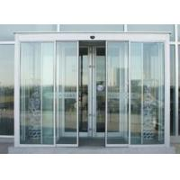 China Induction Motorized Sliding Doors Automatic With Frame Or Frameless Frame wholesale