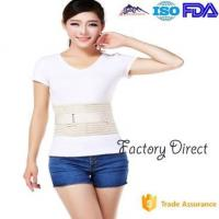 China Double Pull Breathable Waist Back Support Belt , Back Braces For Lower Back Pain wholesale