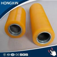 China Polyurethane pu wheels small rubber rollers on sale
