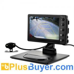 China Car Black Box DVR with Wireless Reversing Camera (1080p HD, 4.3 Inch) wholesale