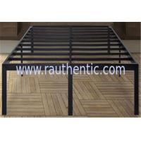China Black sturdy king/queen size metal frame bed with ultimate strength and durability wholesale