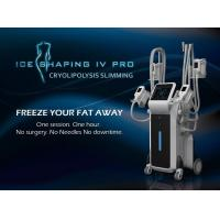 China Hottest sale 4 handles work simultaneously cryo fat freezing cryo weight loss machine wholesale