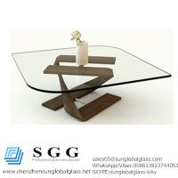 China Excellence quality Living Space Furniture Design Glass Table top wholesale