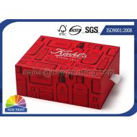 Quality Customized Rigid Paper Drawer Box for Hair Treatments / Body Soap / Lip Balm Kit for sale