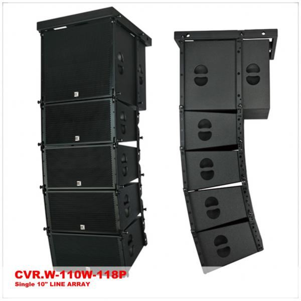 Quality Sound System Indoor Active Line Array 10 Inch Top Speaker 18 Inch Sub Speaker for sale