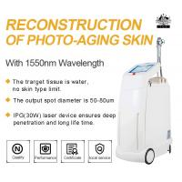 China Erbium Glass Fractional Laser Resurfacing For Cheek Wrinkle Removal , Acne Scars Removal 1550nm Laser wholesale