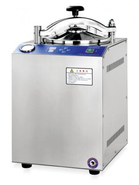 Quality Vertical Cylindrical Pressure Steam Sterilizer Autoclave With An Electrical Heater for sale