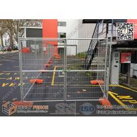 China Sydney OD32X1.5mm Frame Tempoary Event Fence Panels 2100mmX2400mm  | 60x150mm anti-climb mesh | Australia AS4687-2007 wholesale