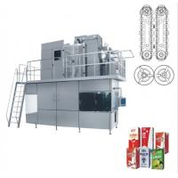 Aseptic carton filling and packing machine