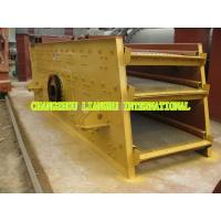 China High Durability Vibrating Sieve Screen , Sand Vibrating High Frequency Screen wholesale