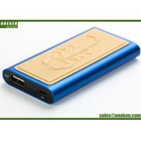 China Scorpion Design Leather Power Bank 2000mAh Lithium Polymer Battery With Laser Logo wholesale
