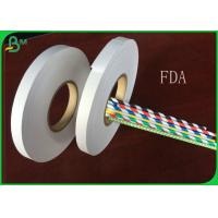 Buy cheap 60gsm 80gsm 120gsm 14mm 15mm 16mm Width Food Grade Paper Roll / 100% FSC from wholesalers