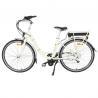 China Adjustable Handle Mid Motor Electric Bike , Ladies Electric Bike With LED Mode Display wholesale