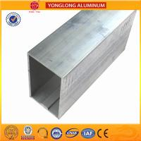 Buy cheap Customized Size Mill Finished Aluminium Industrial extrusion tube Profile from wholesalers