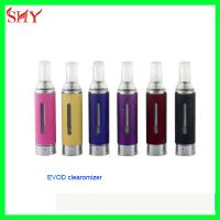 China Kanger EVOD atomizer 1.8ohm-2.5 ohm replaceable head Dual coil MT3 atomizer wholesale