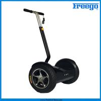 """China Black Electric Self Balance Scooter with 17"""" wheel 1000 motor remote controller for  Amusements wholesale"""