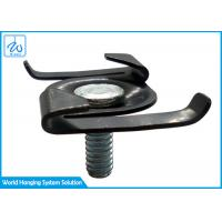 China Metal Frame Suspended Ceiling Parts T Bar Ceiling Clips For Hanging Led Lights on sale