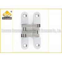 China Furniture Hardware Zinc Alloy Soss Invisible Hinges , Wardrobe Door Hinges on sale