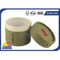 China Chocolate / Tea Packaging Cardboard Cylinder Tubes ISO 9001 2008 / SGS wholesale