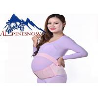 China High Elastic Pregnancy Back Support Elastic Fabric Maternity Waist Support Belt wholesale