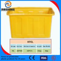 China High temperature resistant plastic turnover box wholesale