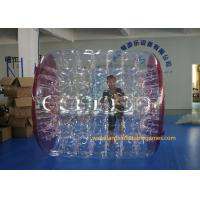 China Kids Human Hamster Clear Inflatable Body Rolling Ball In Aqua Park 2.4 * 2.2 * 1.6m wholesale