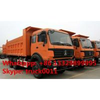 China hot sale North Benz Euro 3 290hp dump tipper truck for sale, best price North Benz 6*4 LHD 30tons dump tipper truck wholesale