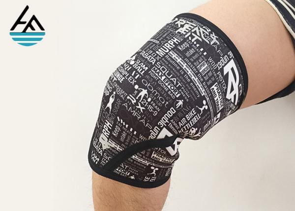 Quality Comfortable Women'S Crossfit Knee Sleeves 5mm Compression Sleeve For Knee Injury for sale