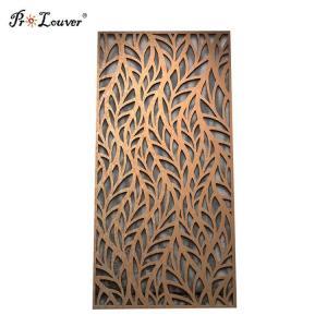 China Exterior Decorative CNC Laser Cut Metal Screen Panel Customized Design on sale