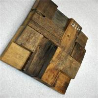 China Square Wood Mosaic Wall Panels , Reclaimed Wood Wall Panels For Home Decoration wholesale