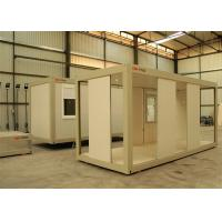 China Flat Pack Prefab Container House Windproof With CE AS CSA Standard wholesale