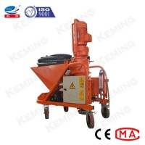 China 30L/Min Mortar Cement Spray Machine Fireproof Gypsum Plastering Machine wholesale