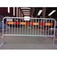 Steel Bicycle Crowd Control Barricade Rental event Fence export USA 1100mm x 2500mm CCB design,working shop suppier